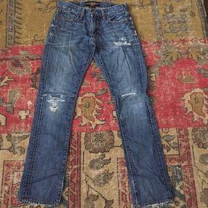 Lucky  Brand jeans 28/32 super slim EUC